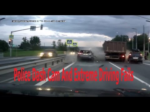 Police Dash Cam And Extreme Driving Fails