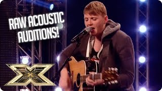 Stripped back and RAW ACOUSTIC auditions | The X Factor UK