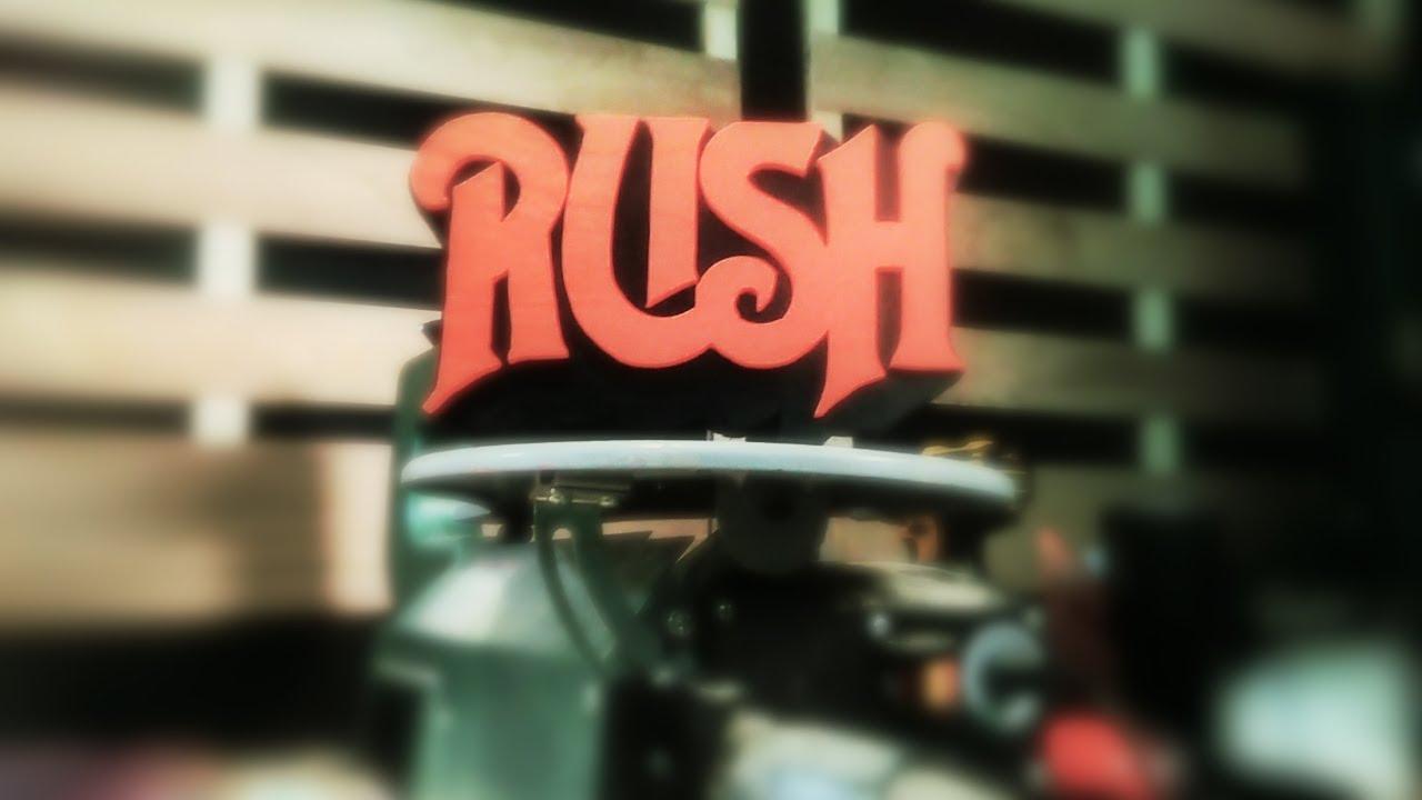 How i make a rush band logo