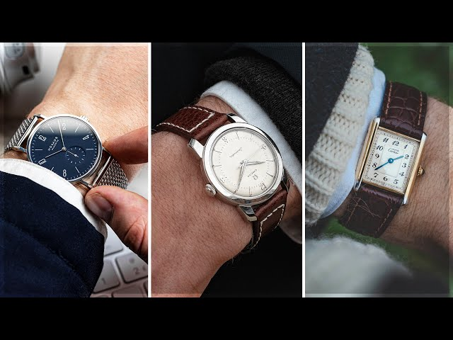 The Best Dress Watches For Under £3,000 | Omega, Cartier, NOMOS & More!