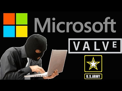 Hackers Charged for Stolen Data from Microsoft, Valve and US Army
