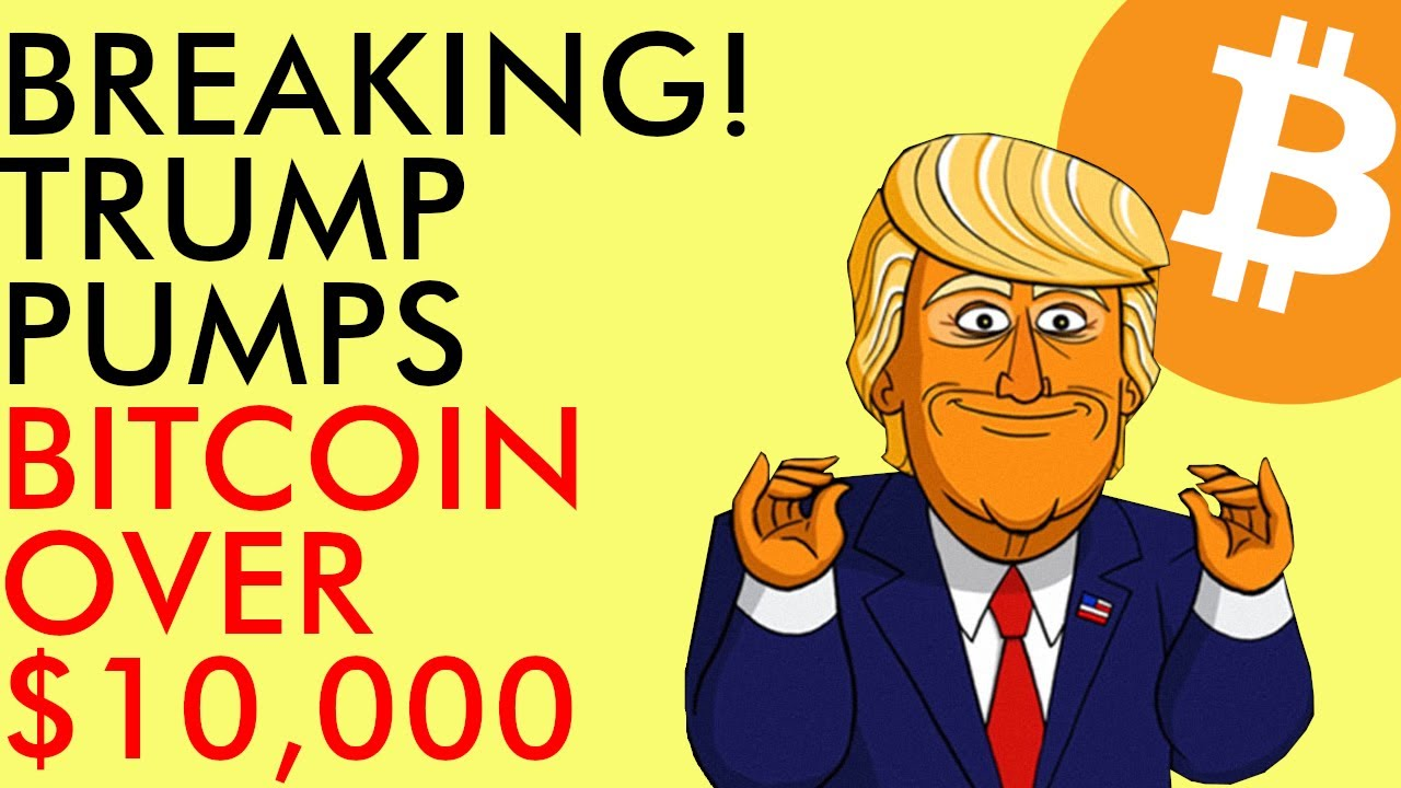BREAKING! TRUMP Pumps BITCOIN Over $10,000 as Protests Rage Across America - June 2020 Crypto News 9