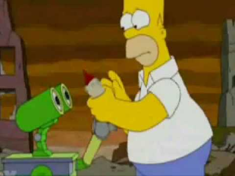 Simpsons- WALL-E