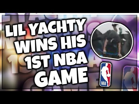 LIL YATCHY WINS HIS FIRST NBA GAME!!!! | NBA LIVE 18 Funny Moments
