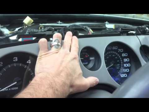 How to remove stereo and dash from 95-99 Buick Riviera (stereo removal instructions)
