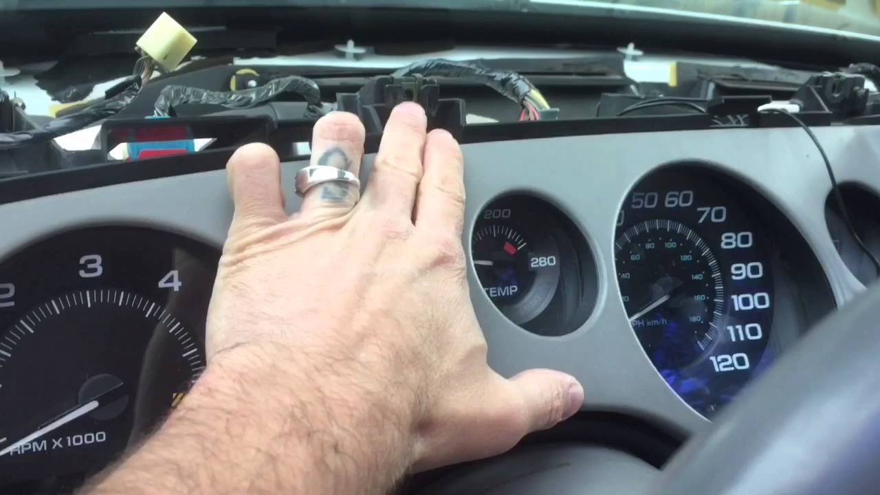 How To Remove Stereo And Dash From 95 99 Buick Riviera 1997 Wiring Diagram Removal Instructions