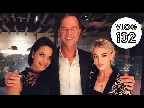 DINEREN MET MARK RUTTE | VLOG 102 | QUEENOFJETLAGS