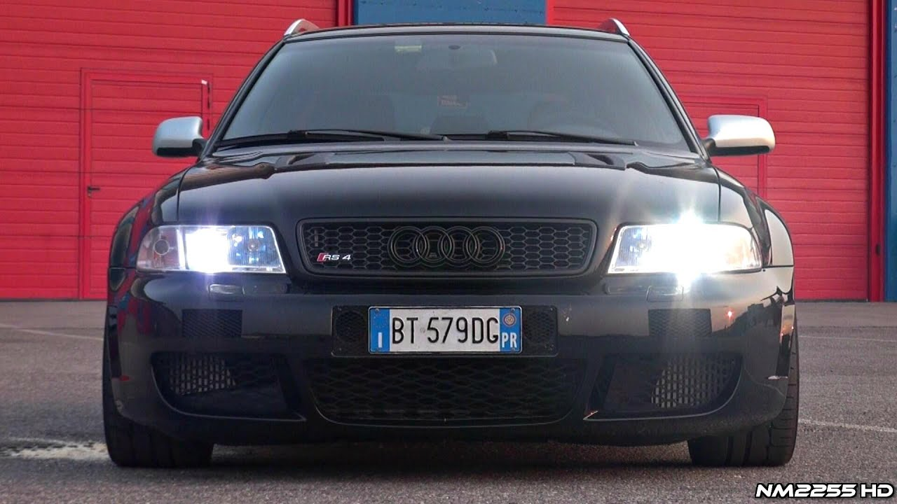 Audi Rs4 2001 Hp Audi V Turbo Revs And Accelerations