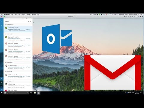 Link Gmail and Outlook in Window 10 Mail Application