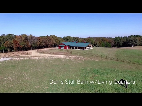Don's Stall Barn w/Living Quarters