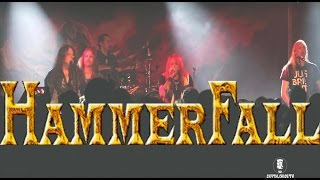 Hammerfall Live in San Francisco, California