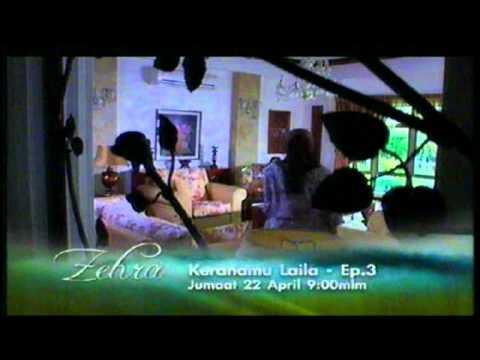 Promo Keranamu Laila (Zehra) @ Tv3! (22/4/2011)
