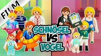 Playmobil Filme: Familie Schnösel vs. Familie Vogel | Videosammlung Compilation Deutsch