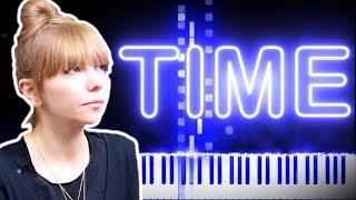 Poppy Ackroyd - Time | Synthesia Piano Tutorial