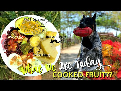 COOKING MY FRUIT What I Eat In A Day || Nicaragua