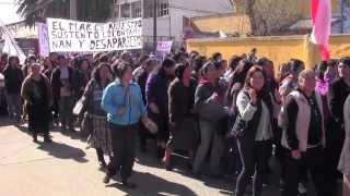 MARCHA COMUNA DE TOME EN PROTESTA PROYECTO OCTOPUS ( 17 de agosto 2013.)