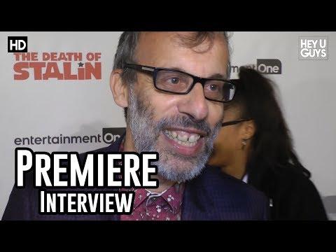 Writer David Schneider | The Death of Stalin UK Premiere Interviews