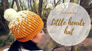 HOW TO MAKE A HAT IN JERSEY STITCH - TUTORIAL STEP BY STEP FOR BEGINNER [LOOM KNITTING DIY]