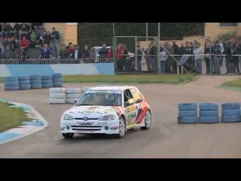 20° Rally città di Casarano: Santantonio Mauro - Falconieri Tony su Peugeot 106 Maxi (nutella)
