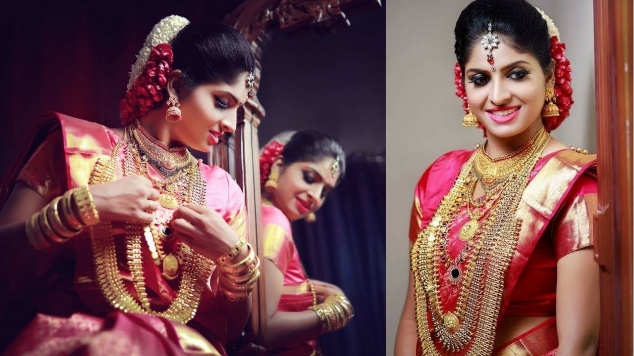 get ready with me for my wedding (kerala bridal makeup)