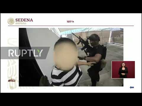 Mexico: Government release video of botched arrest of El Chapo's son