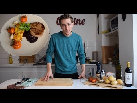 THE BEST BEEF TENDERLOIN RECIPE WITH RED WINE SAUCE! COOK WITH ME