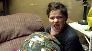 Psycho Kid Rages At Call Of Duty - Black Ops 3