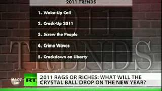Gerald Celente's Top Predictions for 2011