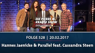 Die Pierre M. Krause Show vom 20.02.2018 mit Hannes Jaenicke
