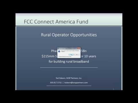 CAF Funding webinar