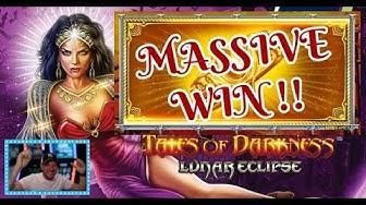 MASSIVE WIN!! TALES OF DARKNESS - NEW NOVOMATIC SLOT!