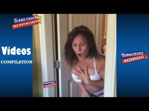 SCARE CAM #66 COMPILATION - Try Not To Laugh