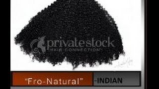 FRO-NATURAL INDIAN HAIR - Privatestockhair.com