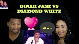 Diamond White vs. Dinah Jane Hansen -X FACTOR USA 2012| REACTION