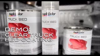 Dupli-Color® How To: Clear Truck Bed Coating