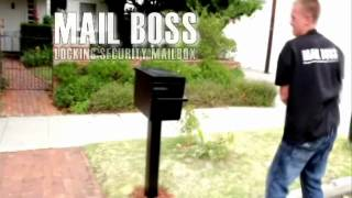 Mail Boss Locking Security Mailbox By Epoch Design