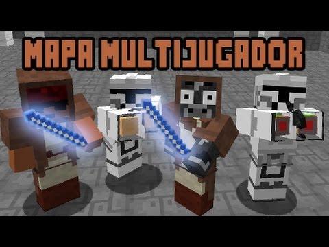 Minecraft Mapa Aventura Star Wars 2 4 Jugadores Multijugador Pve Youtube