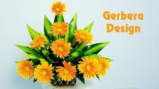 Download lagu Flower Arragement ideas Orange Gerbera flower at your house  Eps 129
