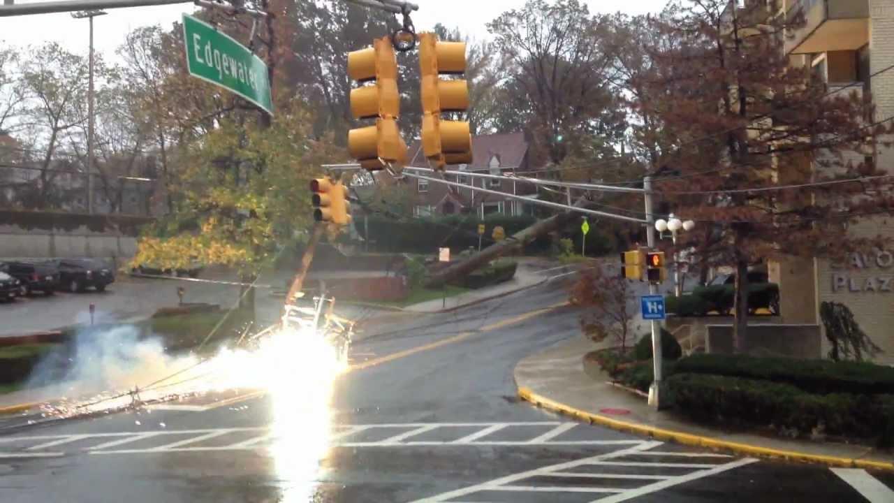 Transformer Explosion Hurricane Sandy Cliffside Park Nj