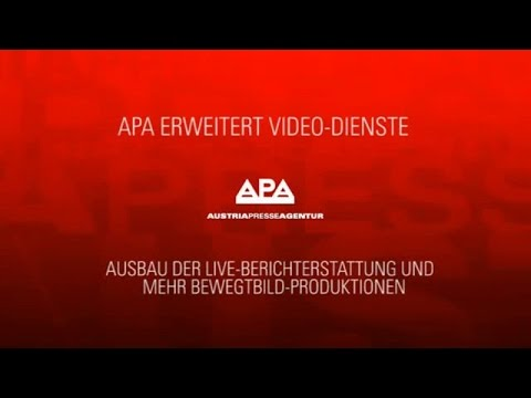 APA erweitert Video-Dienste - VIDEO