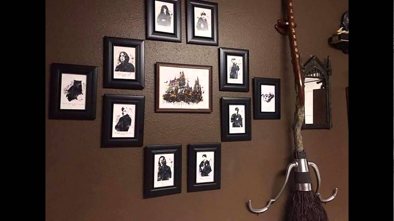 decoraci n de cuarto harry potter youtube