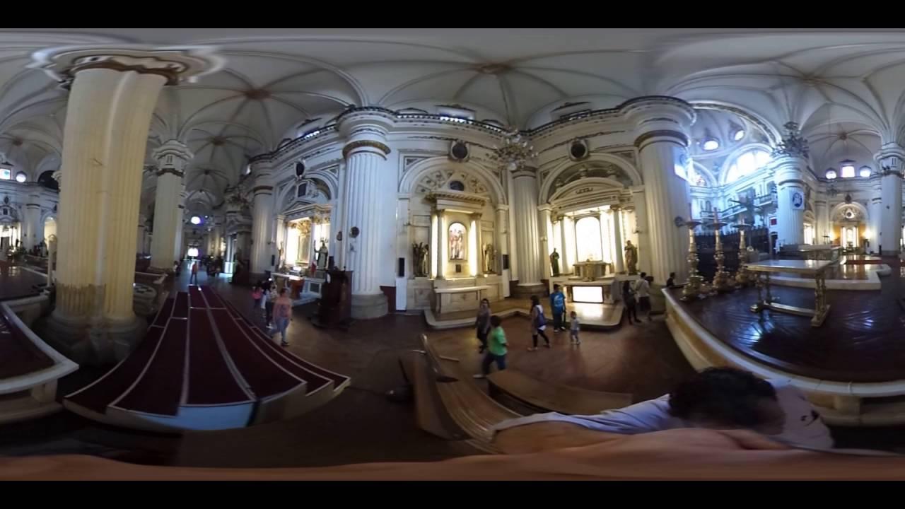 Interior de la catedral de Guadalajara Jalisco Mexico