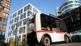 DB testet autonom fahrenden Busverkehr