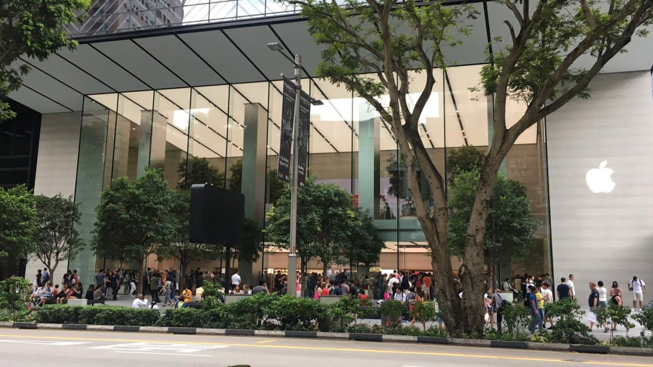 Apple Store Singapore | Apple Orchard Road | VLOG