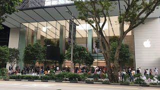 Gambar cover Apple Store Singapore | Apple Orchard Road | VLOG