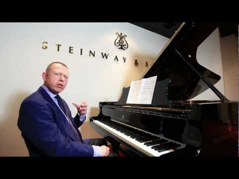 Piano Masterclass on Legato & Staccato from Steinway Hall, London