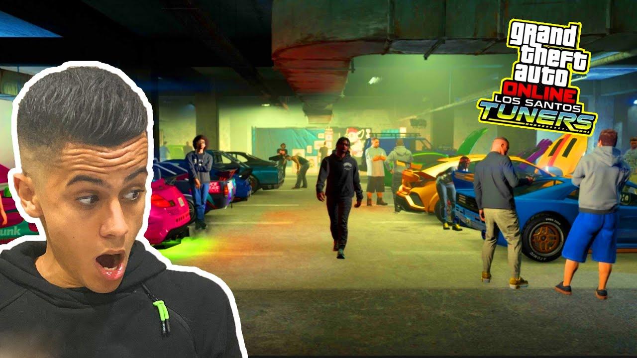 Download NOUVEAU GARAGE TUNING 4.000.000$ ! (DLC LOS SANTOS TUNERS)