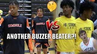 CLASH OF THE TWINS PT  2 !!! Henderson Twins & Galloway Twins Meet Again!!! ANOTHER BUZZER BEATER?!