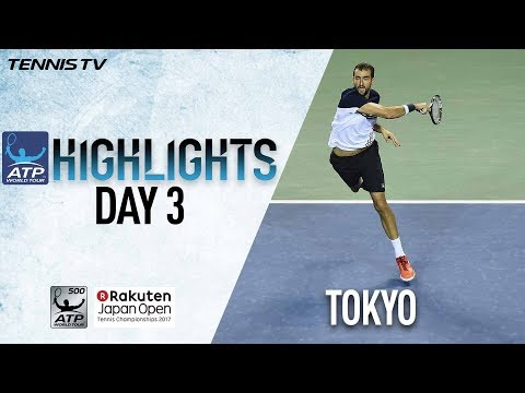 Highlights: Cilic Moves On Wednesday In Tokyo  2017