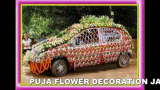 Puja Flower Decoration 9479034201;8224005428 Korba(C.G)Car Decoration 02